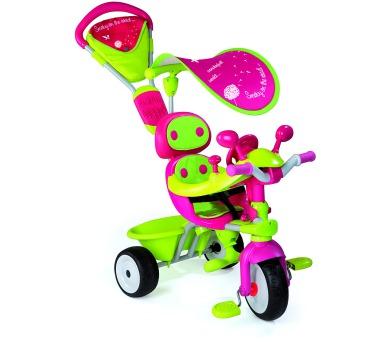 Tříkolka Baby Driver Confort stříška,zelenorůžová + DOPRAVA ZDARMA