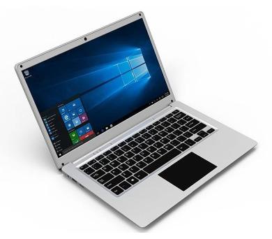 """UMAX notebook/cloudbook VisionBook 14Wa/ 14,1"""" TN/ 1366x768/ N3350/ 4GB/ 32GB Flash/ mini HDMI/ 3x USB/ W10 Home/ stříb. (UMM200V45)"""