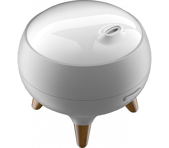 IMMAX aroma difuzér s LED podsvícením/ 10W/ 24V/0,6A/ objem 250ml/ bílý + DOPRAVA ZDARMA