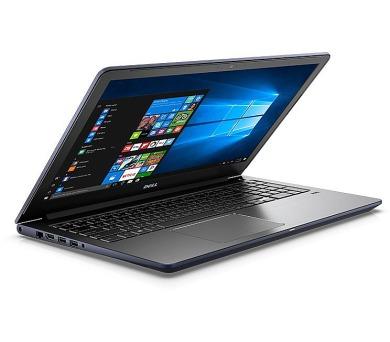 """DELL Vostro 5568/i5-7200U/8GB/128SSD+1TB 5400/GeForce 940MX/15,6"""" FHD/FingerPrint/Win 10 Pro/Šedá"""