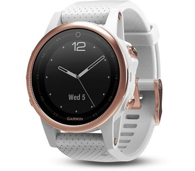 Garmin fenix5S Sapphire Rose Gold Optic