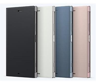 Sony Style Cover Flip pro Xperia XZ1 Silver + DOPRAVA ZDARMA