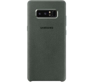 Samsung Alcantara Cover pro NOTE 8 Khaki + DOPRAVA ZDARMA