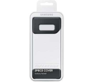 Samsung 2Piece Cover pro NOTE 8 Black