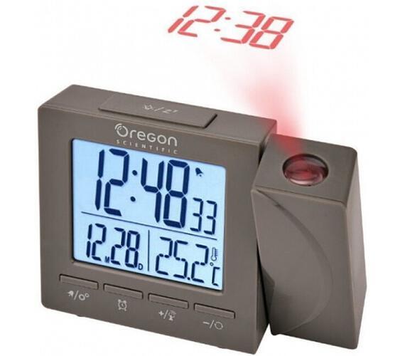 Digitální budík s teploměrem a projekcí RM512PG Oregon Scientific