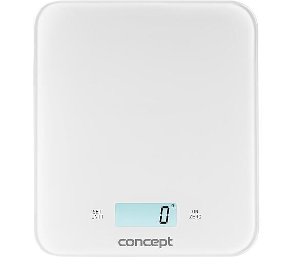 Concept VK5711 Váha kuchyňská digitální 15 kg WHITE