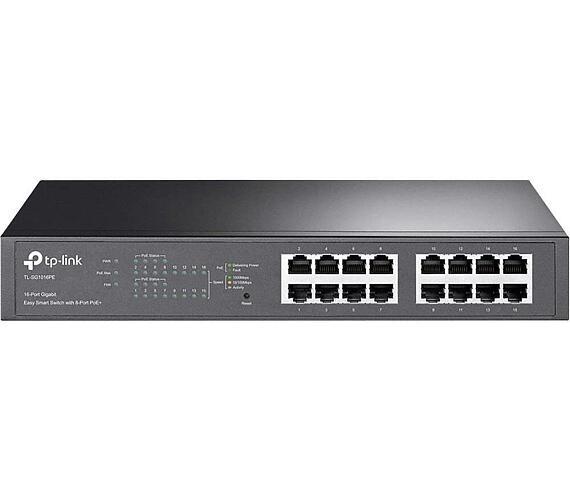 TP-LINK TL-SG1016PE PoE switch + DOPRAVA ZDARMA