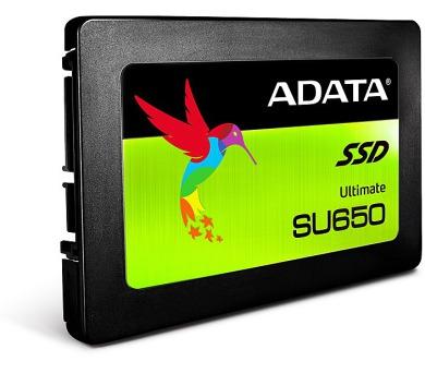 "ADATA SU650 480GB SSD / Interní / 2,5"" / SATAIII / 3D NAND (ASU650SS-480GT-C)"