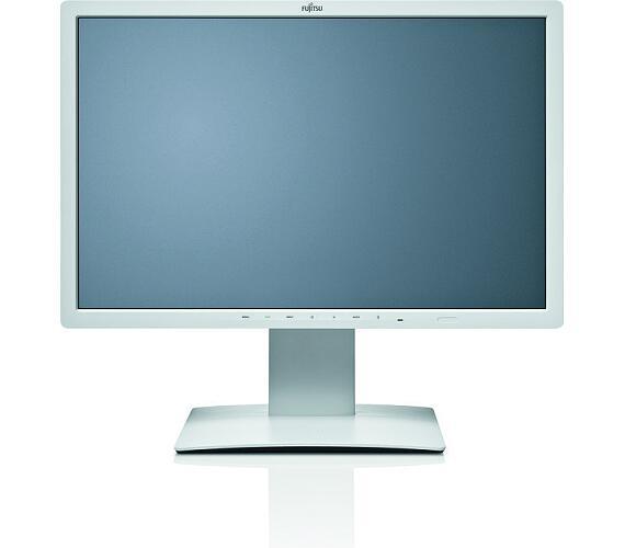 Fujitsu 24´´ B24W-7 LED (S) 1920 x 1200/20M:1/5ms/300cd/VGA/DVI/DP/3xUSB/repro/4-in-1 stand/white + DOPRAVA ZDARMA