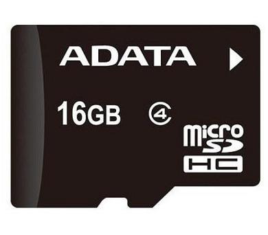 ADATA Micro SDHC karta 16GB Class 4 + OTG čtečka USB 2.0