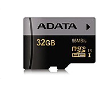 ADATA Micro SDHC karta Premier Pro 32GB UHS-I U3