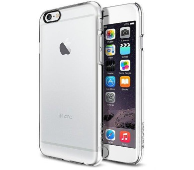 "SPIGEN PRO APPLE IPHONE 6 4,7"" - TRANSPARENTNÍ"