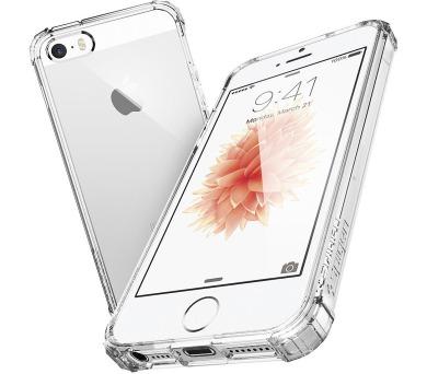 Spigen Crystal Shell pro Apple iPhone 5/5S/5SE transparentní + DOPRAVA ZDARMA