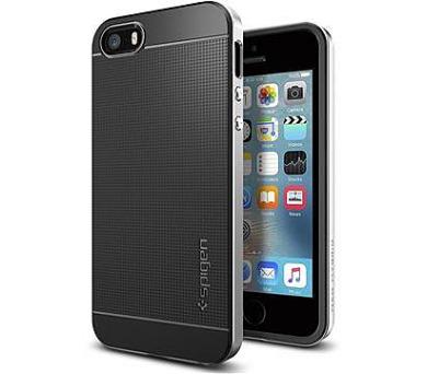Spigen Neo Hybrid pro Apple iPhone 5 stříbrný + DOPRAVA ZDARMA