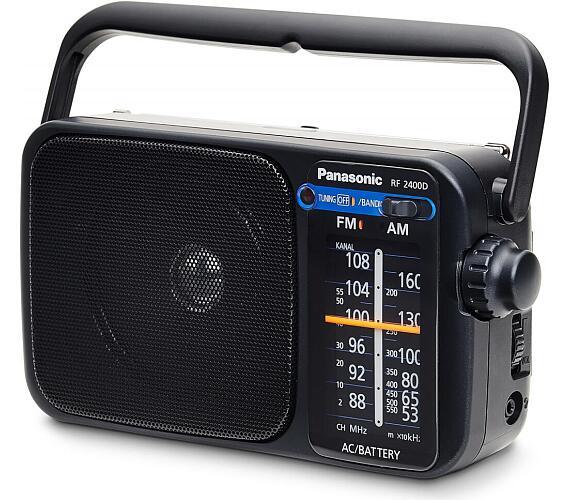 RF 2400DEG-K přenosné rádio Panasonic