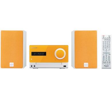 PIONEER X-CM35-D Mikrosystém/ Oranžový
