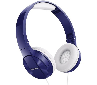 PIONEER SE-MJ503L sluchátka přes hlavu/ Modrá