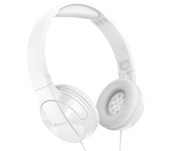 PIONEER SE-MJ503TW headset/ Bílá