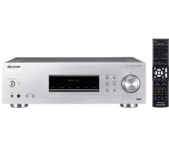 PIONEER SX-20DAB-S/ stereofonní integrovaný přijímač/ Stříbrný