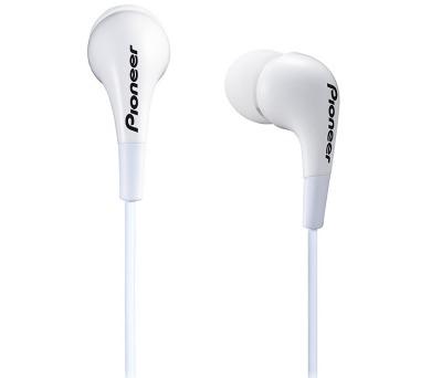 PIONEER SE-CL502-W sluchátka do uší / bílé