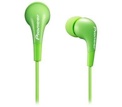 PIONEER SE-CL502-G sluchátka do uší / zelené
