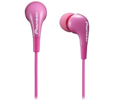 PIONEER SE-CL502-P sluchátka do uší / růžové