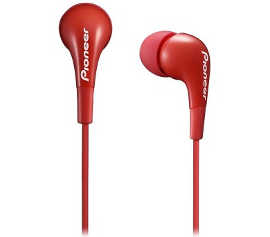PIONEER SE-CL502-R sluchátka do uší / červené