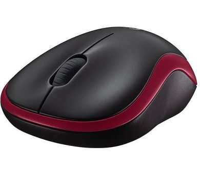 Logitech® Wireless Mouse M185 - EER2 - RED