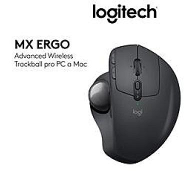 Logitech® MX Ergo - GRAPHITE - EMEA + DOPRAVA ZDARMA