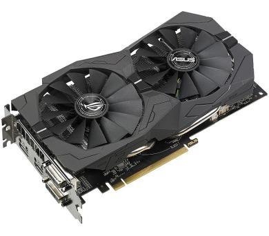 ASUS Radeon ROG-STRIX-RX570-4G-GAMING / 4GB GDDR5 / DVI / HDMI / DP / (90YV0AJ1-M0NA00)