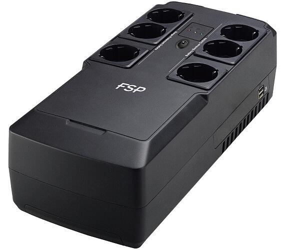 FORTRON UPS NanoFit 600 / USB / LED / 600VA / 360 W (PPF3602301)