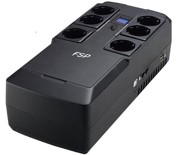 FORTRON UPS NanoFit 800 / USB / dotykový displej / 800VA / 480 W (PPF4801702)
