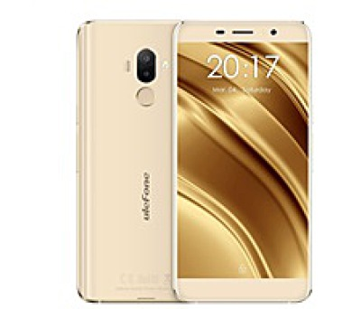 "UleFone smartphone S8 Pro 5,3"" Gold 2/16GB Android 7 dual camera + silicon case"