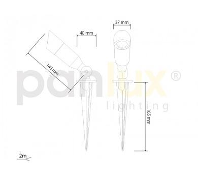 Panlux SMD 96LED světelný zdroj 230V 6W E27