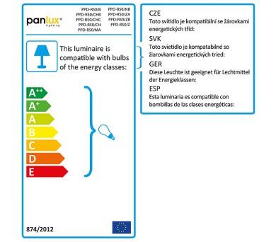 Panlux PARK S zahradní nástěnné svítidlo na zeď se senzorem + DOPRAVA ZDARMA