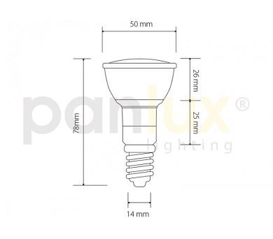 Panlux DOWNLIGHT DWV EVG 1x26W zářivkové podhledové svítidlo + DOPRAVA ZDARMA