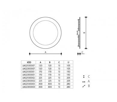 Panlux TS 80LED světelný zdroj 230V G23