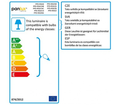 Panlux REFLECTOR DELUXE LED světelný zdroj 230V 4W E14 - teplá bílá