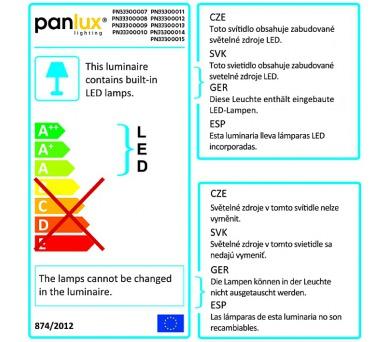 Panlux INDEX 16LED venkovní vestavné svítidlo + DOPRAVA ZDARMA