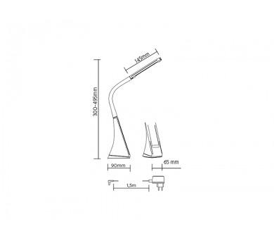 Panlux PARKER rohové nábytkové svítidlo s vypínačem 72LED pod kuchyňskou linku + DOPRAVA ZDARMA