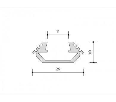 Panlux ROAD venkovní pojezdové svítidlo 24LED 12V + DOPRAVA ZDARMA