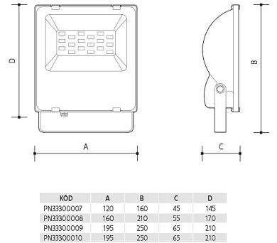Panlux ORAVA LED 158 prachotěsné průmyslové svítidlo + DOPRAVA ZDARMA