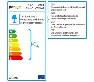 Panlux LED ŽÁROVKA DELUXE světelný zdroj 230V 10W E27 - studená bílá