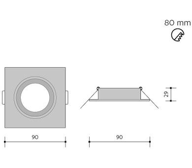 Panlux NSMD 30 LED AL světelný zdroj