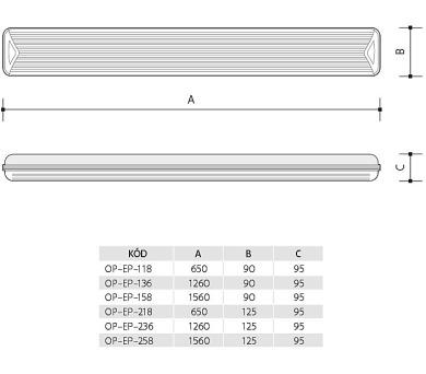 Panlux DAERON nábytkové svítidlo + DOPRAVA ZDARMA