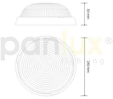 Panlux BALL LED světelný zdroj 230V 3W