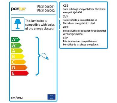 Panlux LED ŽÁROVKA DELUXE světelný zdroj 230V 10W E27 - teplá bílá
