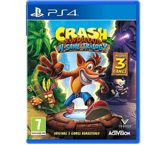 Crash Bandicoot N.Sane Trilogy hra PS4 Activision