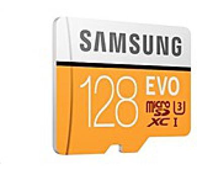 Samsung Micro SDHC karta 128GB (Class 10 UHS- 3) + SD adaptér