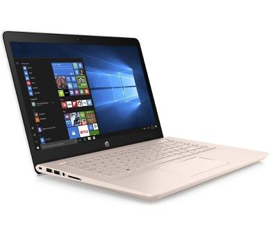 "HP Pavilion 14-bk009nc/ i7-7500U Dual/ 8GB/256GB SSD+1TB (5400)/GF 940MX 4G/14"" FHD IPS/Antiglare/Win 10H/Pale Rose Gold"
